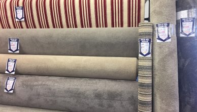 Carpet Remnants, Roll Ends and Offcuts on display   Essex Carpets & Flooring